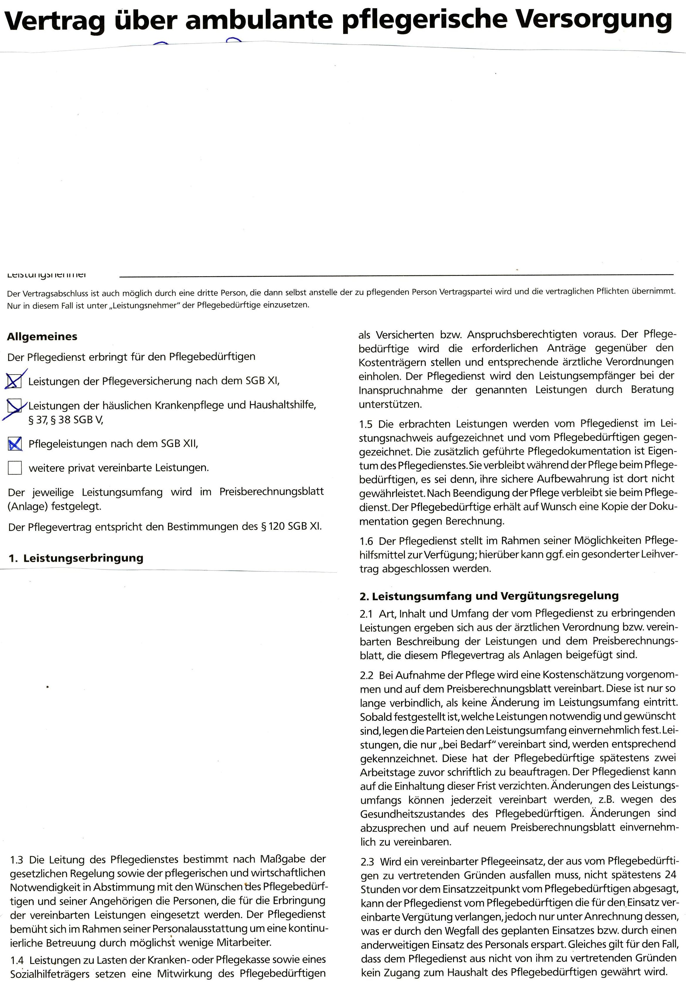 Ausgezeichnet Pflegerische Pflichten Fortsetzen Bilder - Entry Level ...
